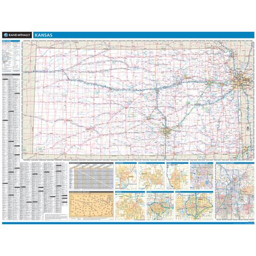 ProSeries Wall Map: Kansas State