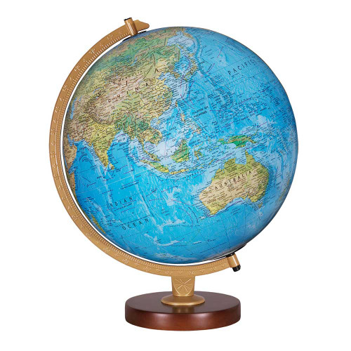 "Livingston 12"" Illuminated Desk Globe"