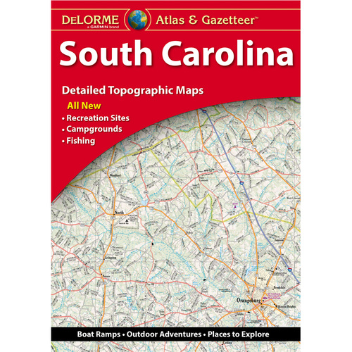 DeLorme Atlas & Gazetteer: South Carolina