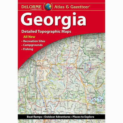 DeLorme Atlas & Gazetteer: Georgia