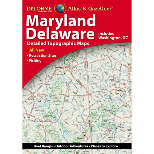 DeLorme Atlas & Gazetteer: Maryland & Delaware