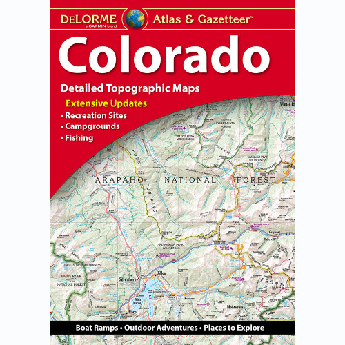 DeLorme Atlas & Gazetteer: Colorado