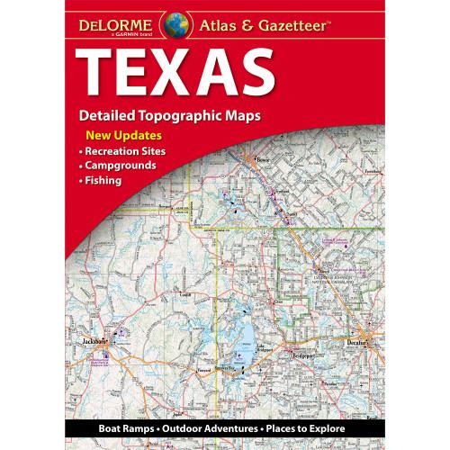 DeLorme Atlas & Gazetteer: Texas
