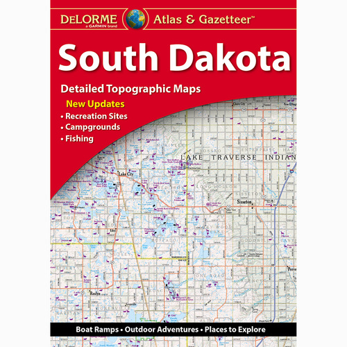 DeLorme Atlas & Gazetteer: South Dakota