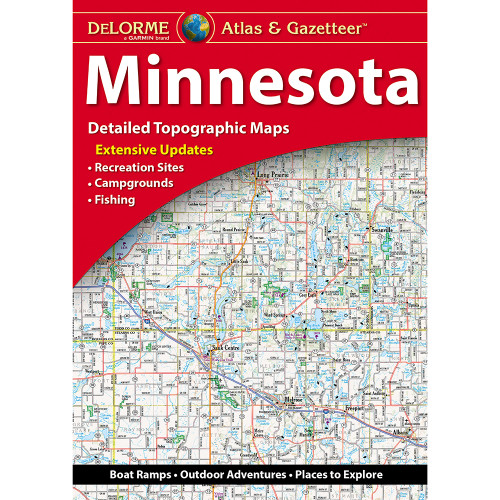 DeLorme Atlas & Gazetteer: Minnesota