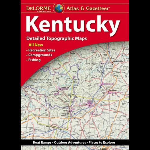 DeLorme Atlas & Gazetteer: Kentucky