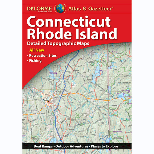 DeLorme Atlas & Gazetteer: Connecticut & Rhode Island