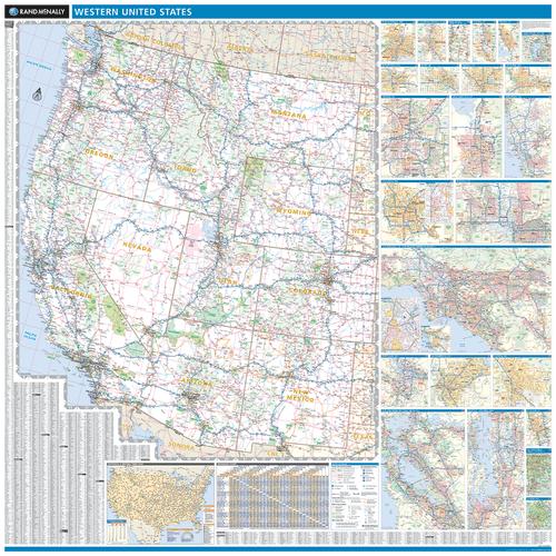 Rand Mcnally Folded Map Western United States