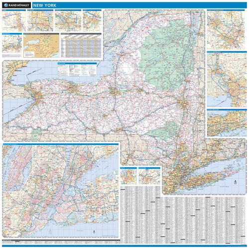 City Map Of New York State.New York City Boroughs Wall Map