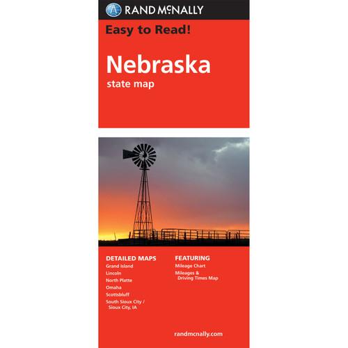 Easy To Read: Nebraska State Map