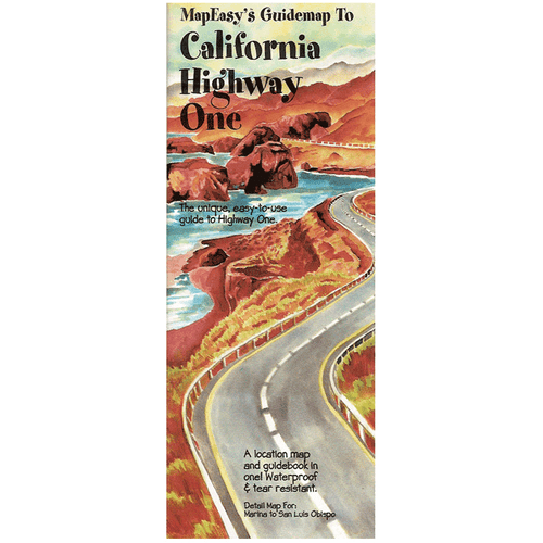 MapEasy's Guidemap: California Highway One