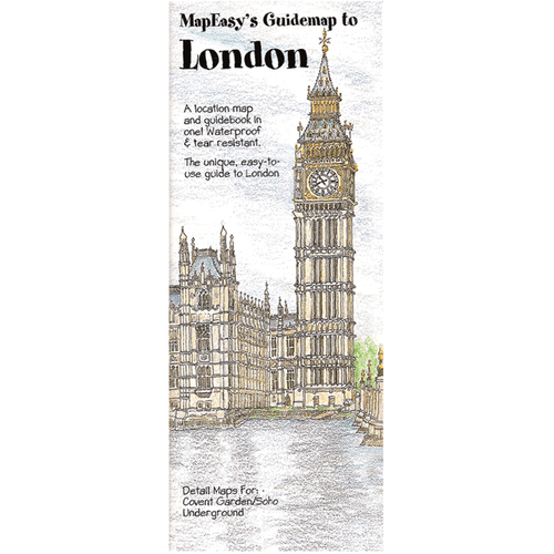 MapEasy's Guidemap: London