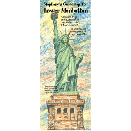 MapEasy's Guidemap: Lower Manhattan