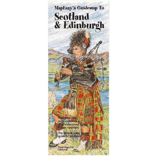 MapEasy's Guidemap: Scotland & Edinburgh