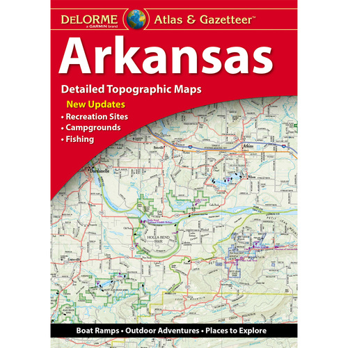 DeLorme Atlas & Gazetteer: Arkansas