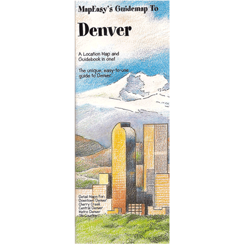 MapEasy's Guidemap: Denver