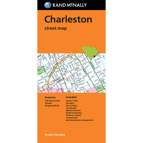 Folded Map: Charleston Street Map