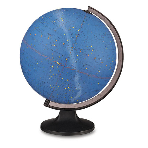"Constellation 12"" Illuminated Desk Globe"