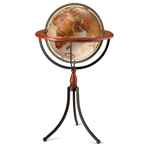 "Santa Fe 16"" Floor Globe"