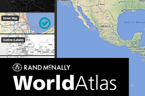 Rand McNally WorldAtlas Digital Teaching Tool