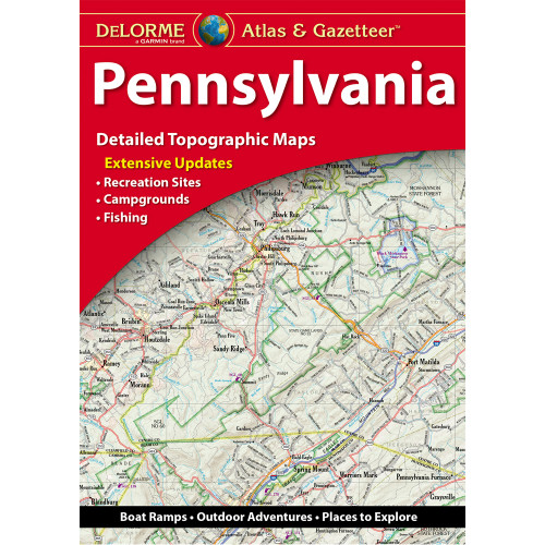 DeLorme Atlas & Gazetteer: Pennsylvania