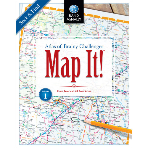 Map It! Seek & Find - Volume 1