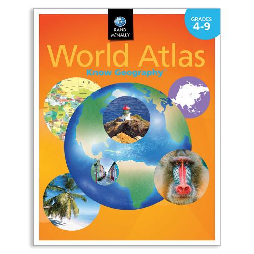 Know Geography™ World Atlas | Grades 4-9