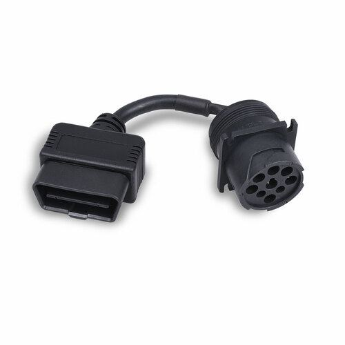 OBD-II Type A Plug to 9-Pin Receptacle