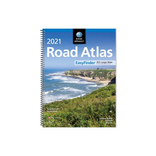 2021 EasyFinder Midsize Road Atlas