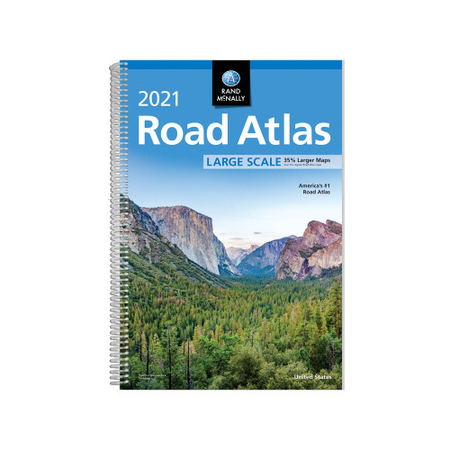 2021 Large Scale Road Atlas