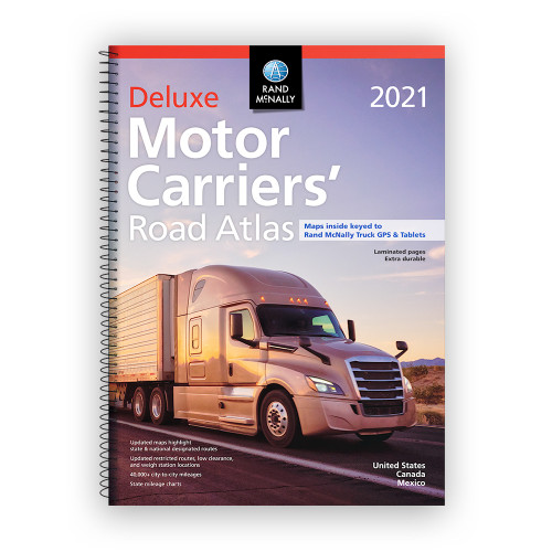 2021 Deluxe Motor Carriers' Road Atlas
