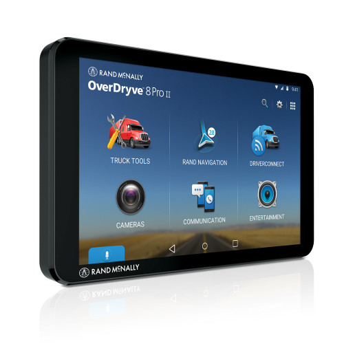OverDryve Pro II Truck GPS & Connected Tablet