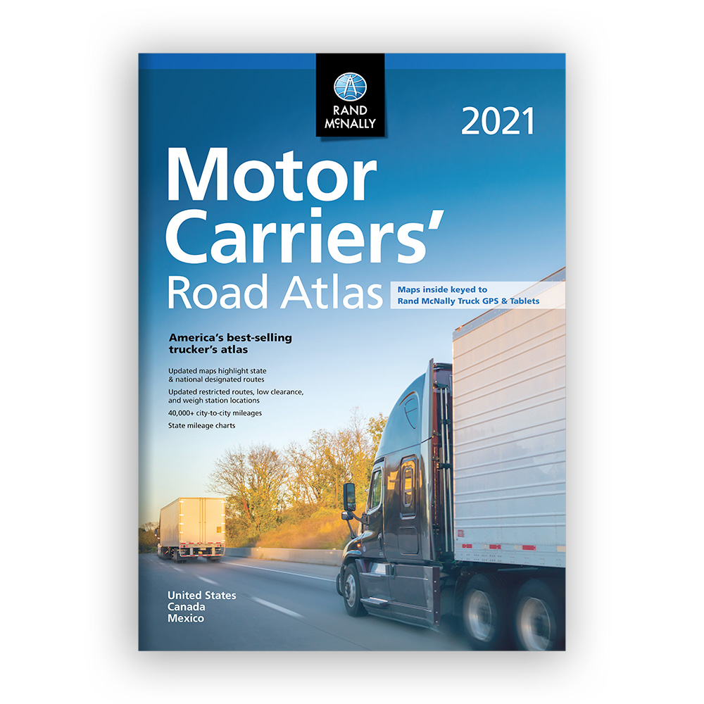 Best Truck Gps 2021 Rand McNally 2021 Motor Carriers' Road Atlas