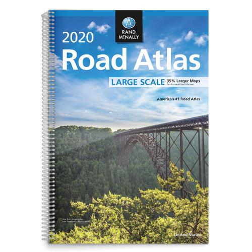 Rand Mcnally Gps >> Rand McNally 2020 Large Scale Road Atlas - Rand McNally Store