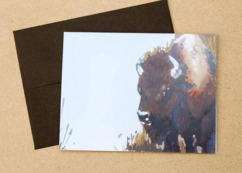 Bison by Mr Fancyfancy