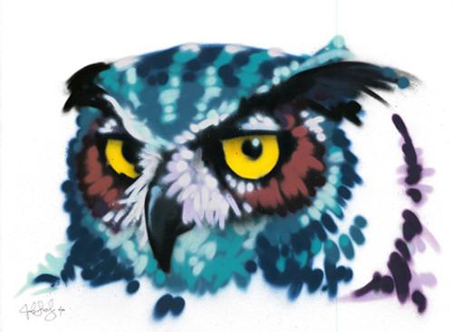 Owl by MrFancyfancy