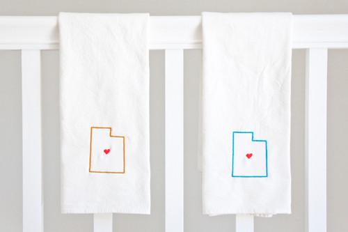 Utah State Cotton Towel