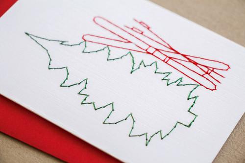 Ski Lover Christmas Cards