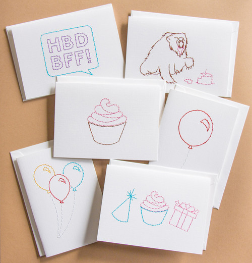 Birthday Set of 6