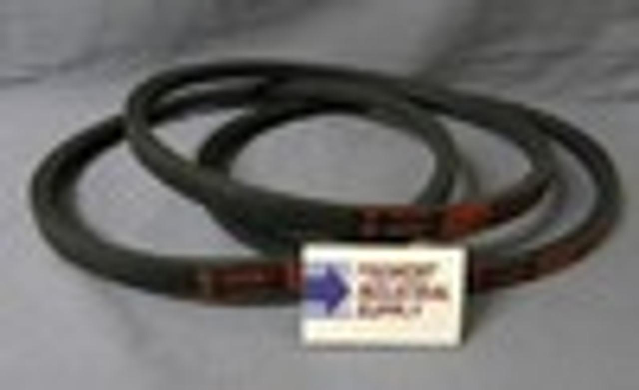 Delta 49-124 Unisaw drive belt set of 3 matched belts