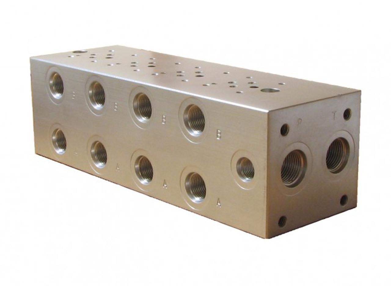 D03 hydraulic directional control valve 4 station manifold Series Circuit Power Valve USA