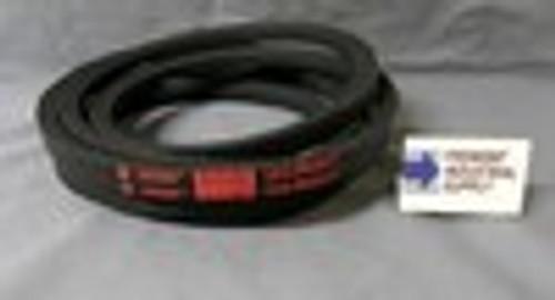 """3V280 3/8"""" wide x 28"""" outside length v belt"""