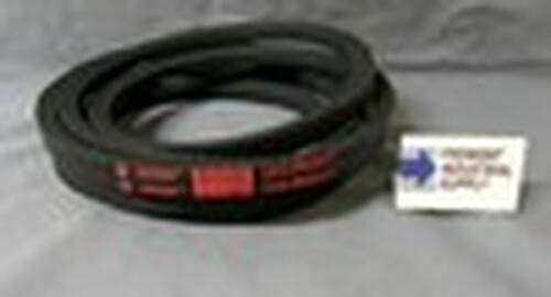 """3V1060 3/8"""" wide x 106"""" outside length v belt"""