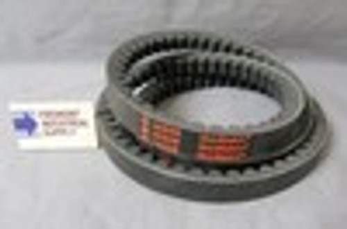 "AX108 1/2"" wide x 110"" outside length v-belt COGGED"