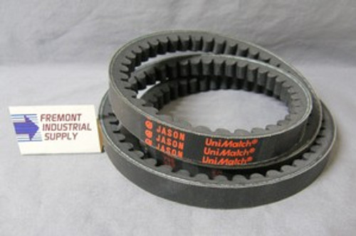 """AX67 1/2"""" wide x 69"""" outside diameter v-belt COGGED  Jason Industrial - Belts and belting products"""
