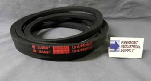 "A180 V-Belt 1/2"" wide x 182"" outside length  Jason Industrial - Belts and belting products"