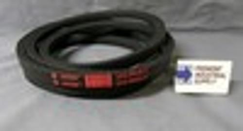 "A158 V-Belt 1/2"" wide x 160"" outside length"