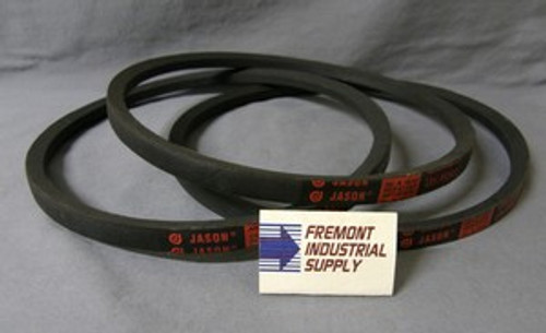 Delta 49-101 Unisaw drive belt set of 3  for 1725 RPM motor  Jason Industrial - Belts and belting products
