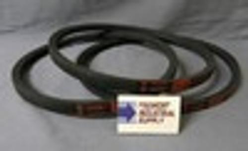 Delta 49-101 Unisaw drive belt set of 3  for 1725 RPM motor