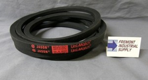 SPZ1180 9.7mm x 1193mm Outside length v-belt Superior quality to no name brands Jason Industrial - Belts and belting products